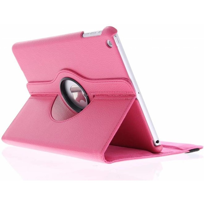 Merkloos Fuchsia 360° draaibare hoes iPad Air