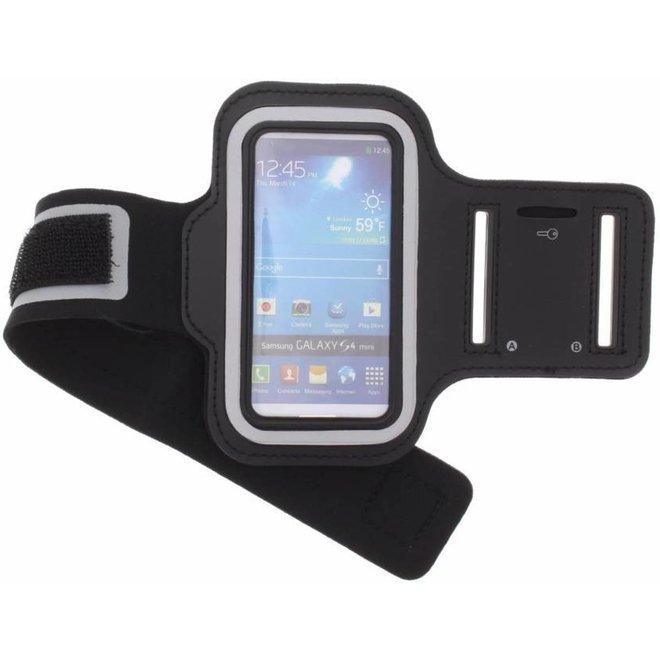 Zwarte sportarmband voor de Samsung Galaxy S4 Mini