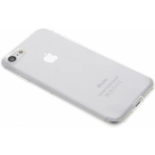 Gel Back Cover hoesje voor iPhone 8 / 7 - Transparant