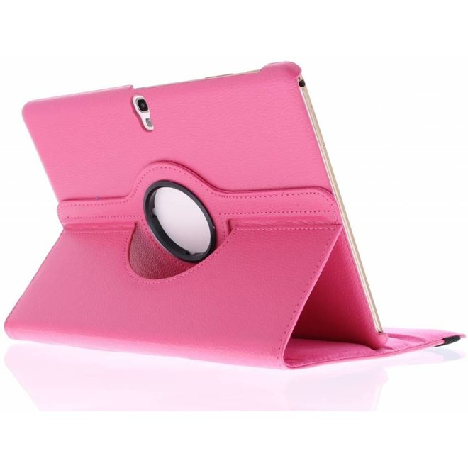 Smartphonehoesjes.nl Fuchsia 360° draaibare tablethoes Samsung Galaxy Tab S 10.5
