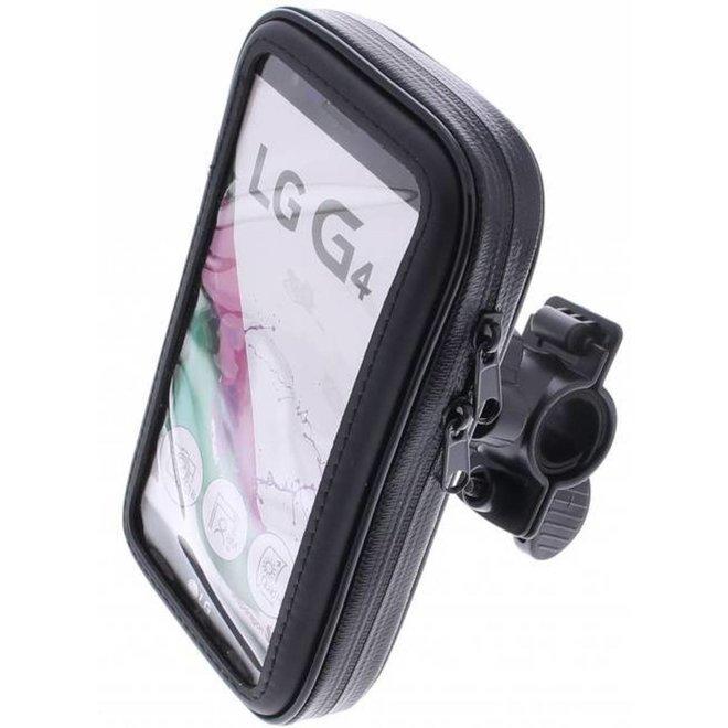 Merkloos telefoonhouder fiets - Universeel - Waterdicht - Maat XL
