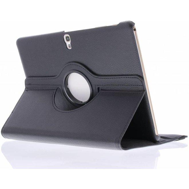 360° Draaibare Bookcase Samsung Galaxy Tab S 10.5 tablethoes - Zwart