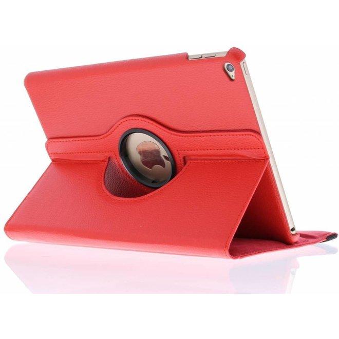 Rode 360 graden draaibare tabelthoes voor de iPad Air 2