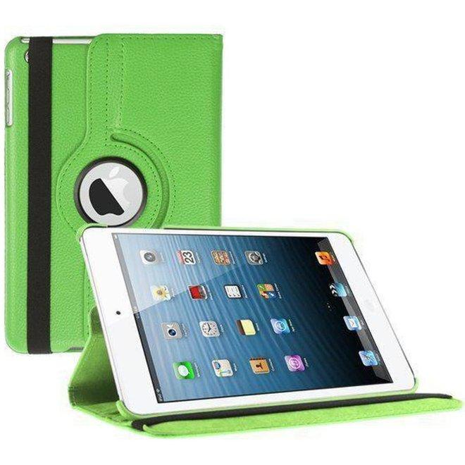 iPad Air 2 Hoes Cover Multi-stand Case 360 graden draaibare Beschermhoes groen