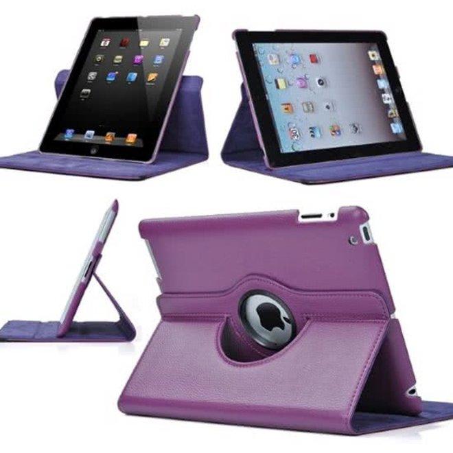 iPad Air 2 hoes draaibaar Paars