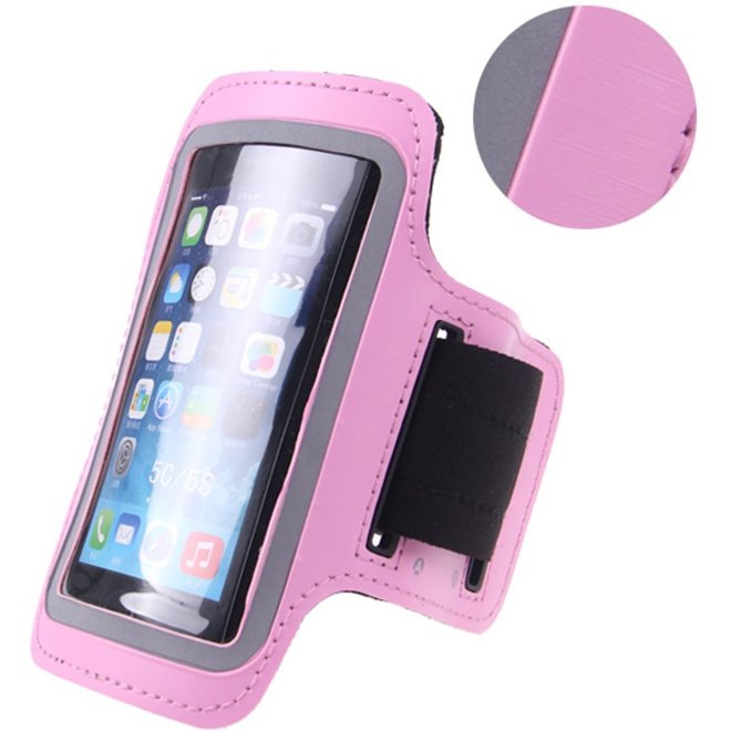 Sportarmband Easy Fit iPhone 5, 5s, 5c Roze