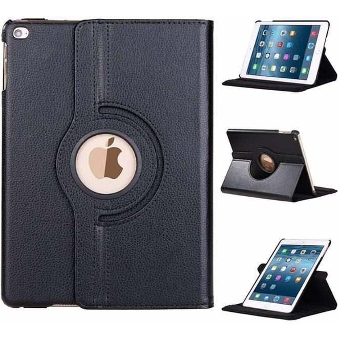 nieuwe iPad 9.7 (2018) / (2017)  Hoes   Case   Cover   360 graden draaibaar Multi stand   Zwart