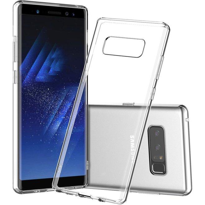 Samsung Galaxy Note 8 ultra dunne transparant tpu hoesje