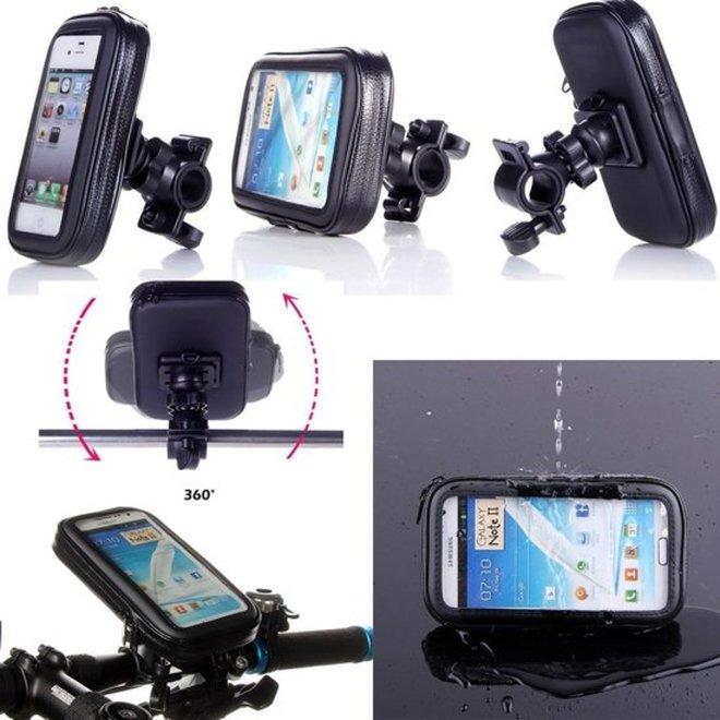 Uniq Accessory telefoonhouder fiets - Universeel - Waterdicht - tot 5.3 Inch