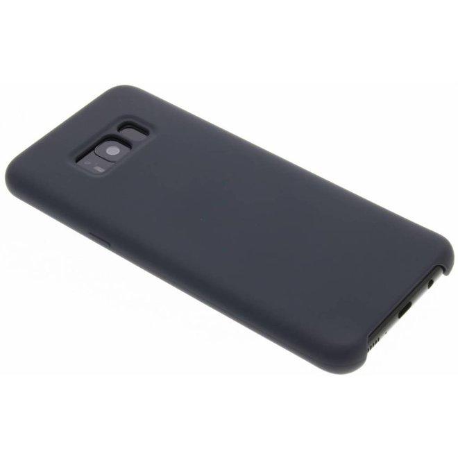 Zwart siliconen hoes Samsung Galaxy S8 Plus (G955)