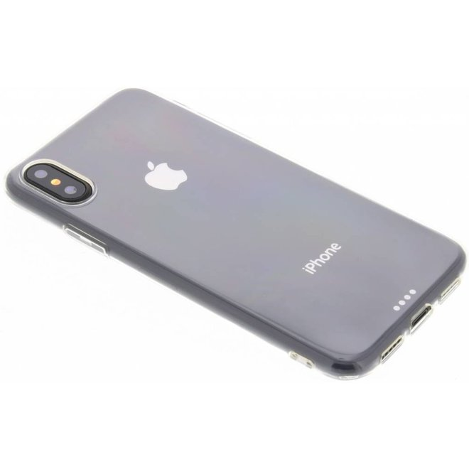 Ultra Thin Transparant Backcover iPhone X / Xs hoesje - Transparant