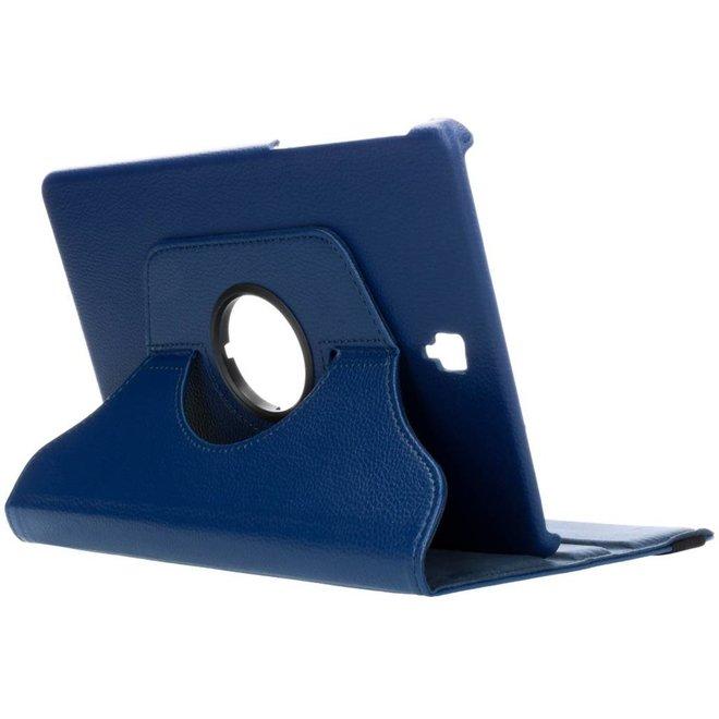 360° Draaibare Bookcase Samsung Galaxy Tab S4 10.5 tablethoes - Blauw