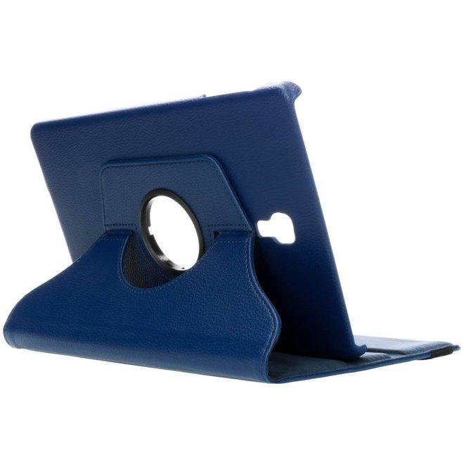 360° Draaibare Bookcase Samsung Galaxy Tab A 10.5 (2018) tablethoes - Blauw