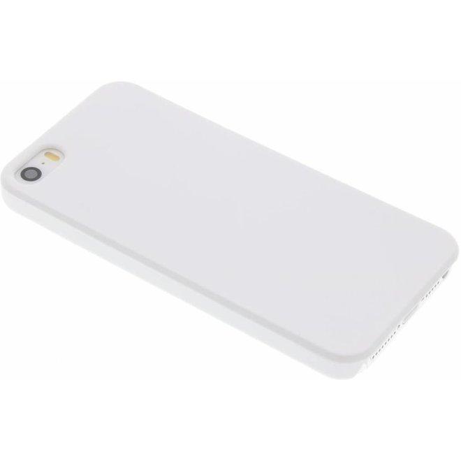 Wit effen hardcase hoesje iPhone 5 / 5s / SE