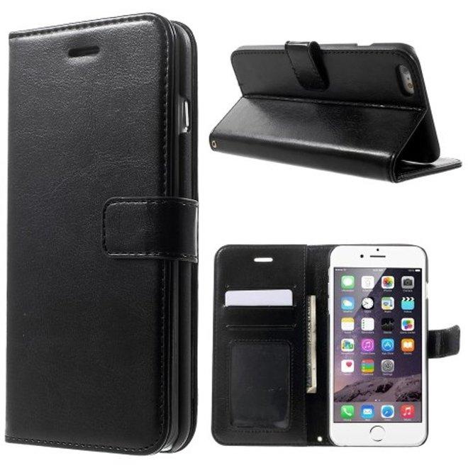 Cyclone wallet Hoesje iPhone 6 6S zwart