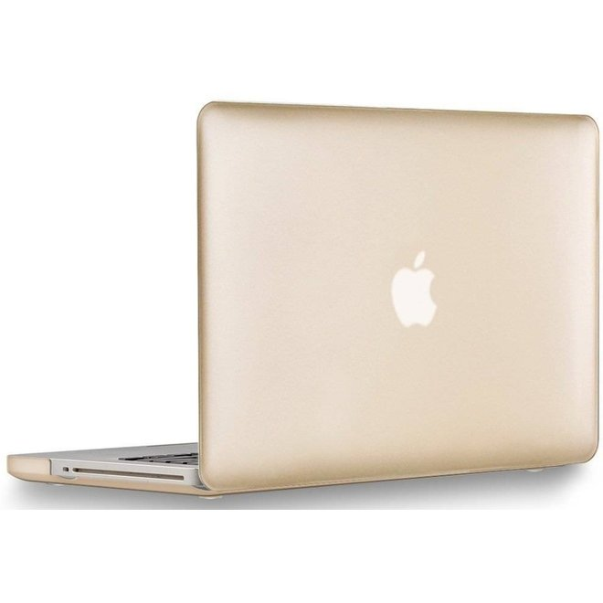 Macbook Pro 13.3 Clip-On Cover Goud