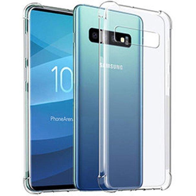 Anti-shock Back Cover Samsung Galaxy S10e Transparant hoesje
