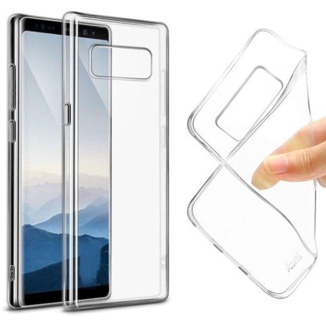 Samsung Galaxy Note 8 siliconen hoesje transparant - zachte hoesje - soft case