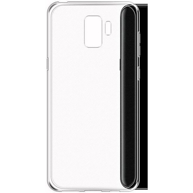 Hoesje Transparant voor Samsung Galaxy S9 - Transparant cover hoesje ( Achterkant )