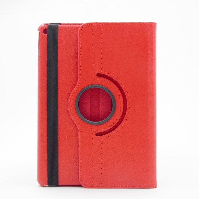 360 Graden Tablet Hoes - Geschikt voor Apple Ipad Air 2 - Rood