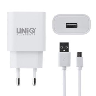 UNIQ Accessory UNIQ Accessory Qualcomm 2.0 Micro USB  snellader- Wit (CE)
