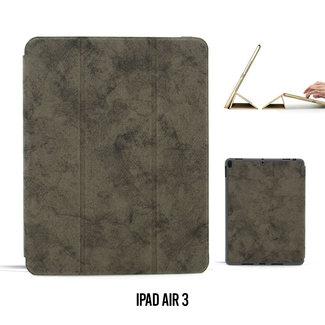 UNIQ Accessory Apple iPad Air 3 Grijs Smart Case - Book Case Tablethoes