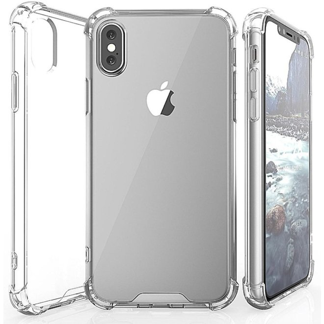 Back Cover voor Apple iPhone X en Apple iPhone Xs - Transparant