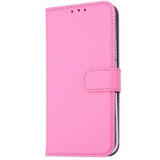 xlmobiel.nl Samsung Galaxy A6 (2018) Pasjeshouder Pink Booktype hoesje - Magneetsluiting