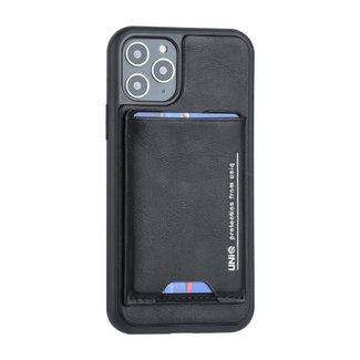 UNIQ Accessory UNIQ Accessory iPhone 11 Pro Hard Case Backcover met pasjeshouder - Zwart