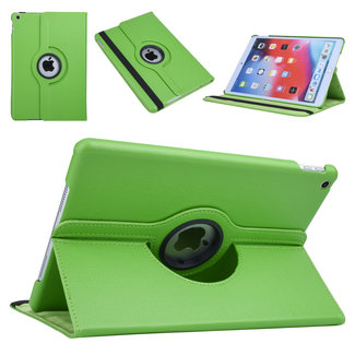 xlmobiel.nl Apple iPad 10.2 (2019) Groen 360 graden draaibare hoes - Book Case Tablethoes