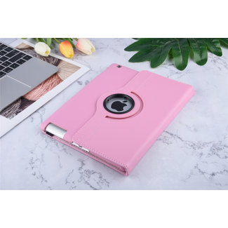xlmobiel.nl Apple iPad 2-3-4 Roze Book Case Tablethoes Smart Case - Kunstleer
