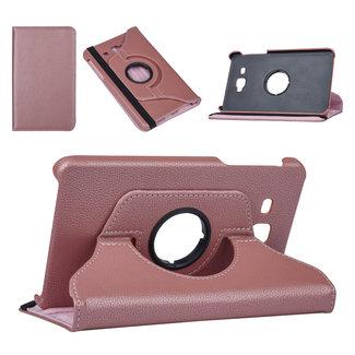 NT Mobiel Samsung Tab A 7.0 2016 Rose Gold Book Case Tablethoes Draaibaar - Kunstleer