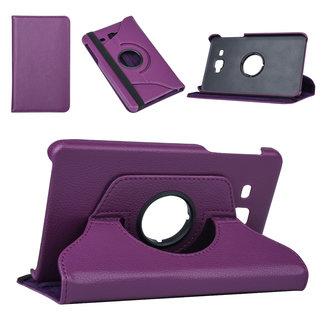 NT Mobiel Samsung Tab A 7.0 2016 Paars Book Case Tablethoes Draaibaar - Kunstleer