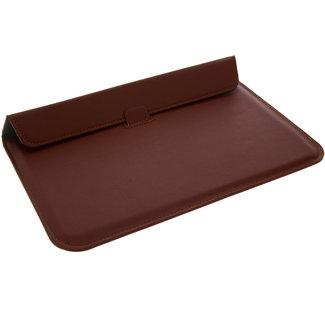 xlmobiel.nl Ultra Slim Laptop Sleeve 11.6 inch Bruin Insteek hoesje Hard - Slim