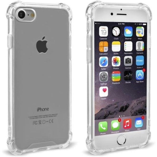 iPhone 7 Plus / 8 Plus Transparant TPU Silicone Case Met Verstevigde Randen