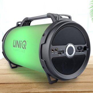UNIQ Accessory Draagbare Bluetooth Speaker met Karaoke & LED Licht show in verschillende kleuren - AUX - Radio - Bluetooth - USB - Micro SD