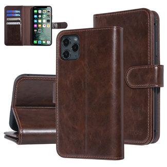 UNIQ Accessory UNIQ Accessory iPhone 11 Pro Max Bruin Zachte huid Booktype hoesje