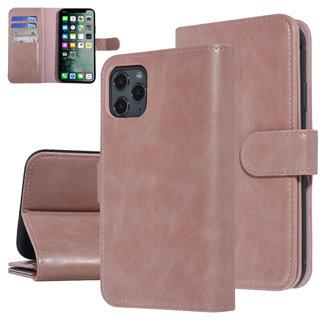 UNIQ Accessory UNIQ Accessory iPhone 11 Pro Max Zachte huid Booktype hoesje - Roze