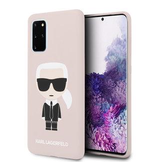 Karl Lagerfeld Samsung Galaxy S20 Plus Roze Backcover hoesje - KLHCS67SLFKPI