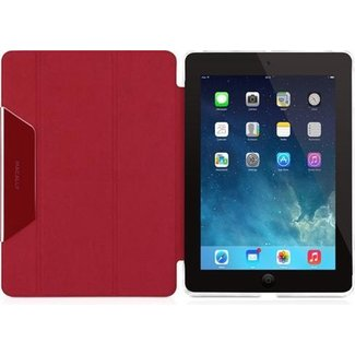 Macally Hardshell cover iPad Air - Rood