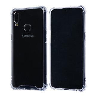 xlmobiel.nl Samsung Galaxy A10s Transparant Backcover hoesje - Anti schok