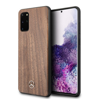 Mercedes-Benz Mercedes-Benz Samsung Galaxy S20 Plus Bruin Backcover hoesje - Wood Walnut