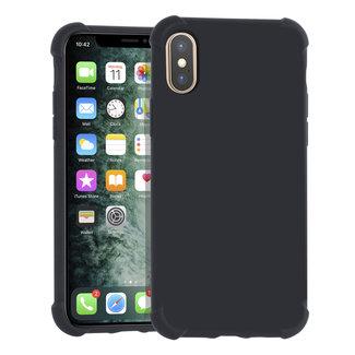 Andere merken Apple iPhone Xs Max zwart Backcover hoesje - silicone