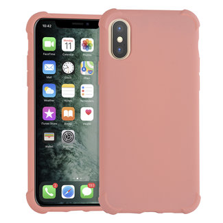 Andere merken Apple iPhone Xs Max Roze Backcover hoesje - silicone