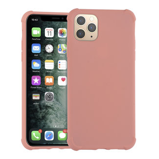 Andere merken Apple iPhone 11 Pro Max Roze Backcover hoesje - silicone
