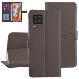 Andere merken Huawei P40 Lite Bruin Booktype hoesje - Kaarthouder
