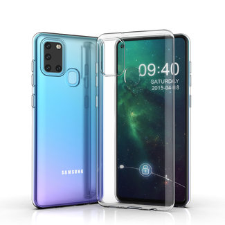 Andere merken Samsung Galaxy A21S Transparant Backcover hoesje - silicone