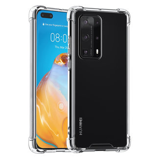 Andere merken Huawei P40 Pro Plus Transparant Backcover hoesje - silicone