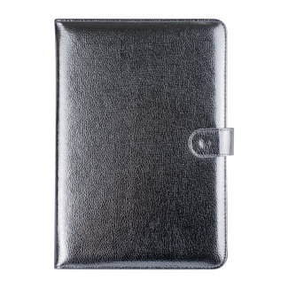 xlmobiel.nl Universal 10 inch Zilver Book Case Tablethoes - PU-leer