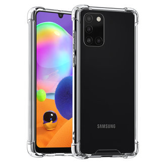 xlmobiel.nl Galaxy A31 Transparant Backcover hoesje - silicone (A315F)